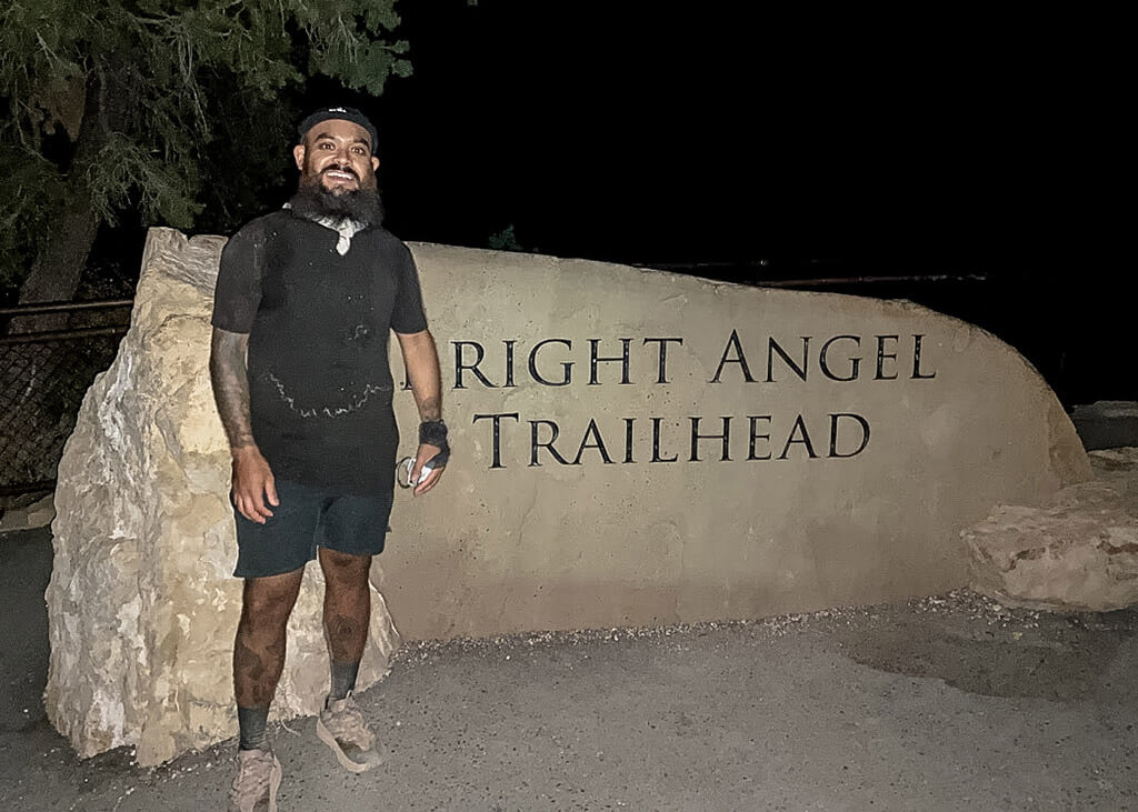 Gunnar Barrera Straight Angel Trailhead