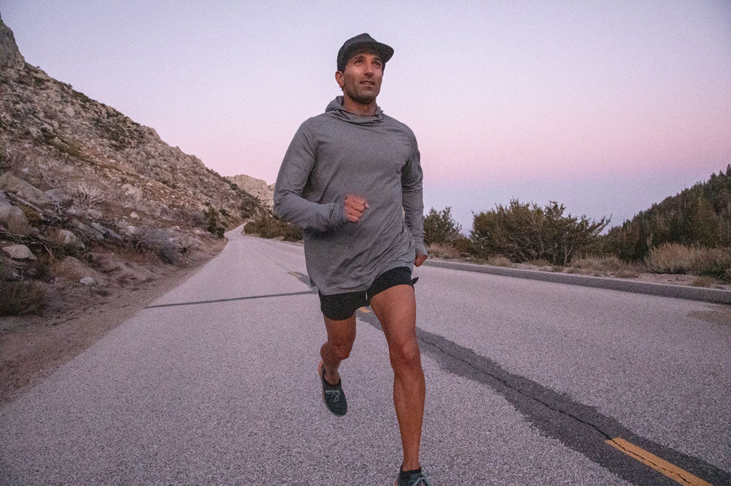 sunset run in mt whitney