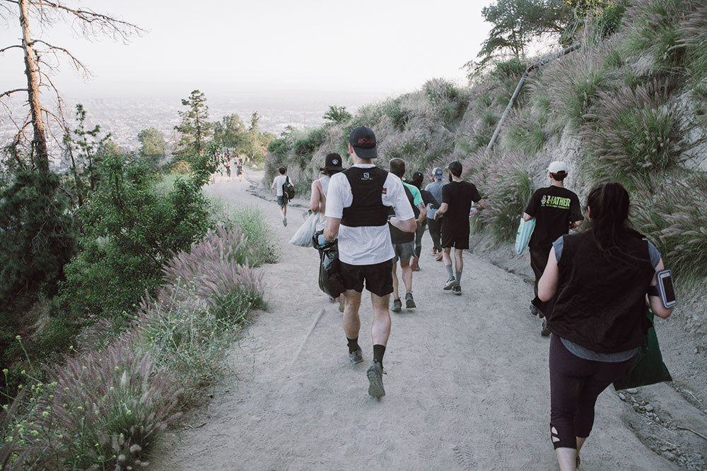 Los Angeles trail running
