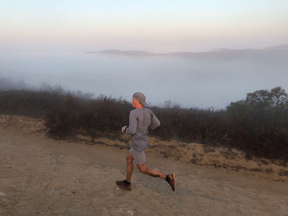 Trail running Orange County