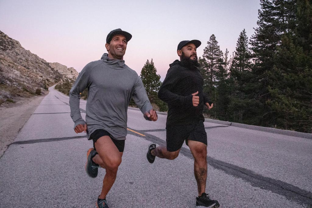 running-mt-whitney-sunset