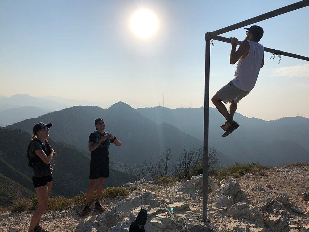 Pull ups mountains