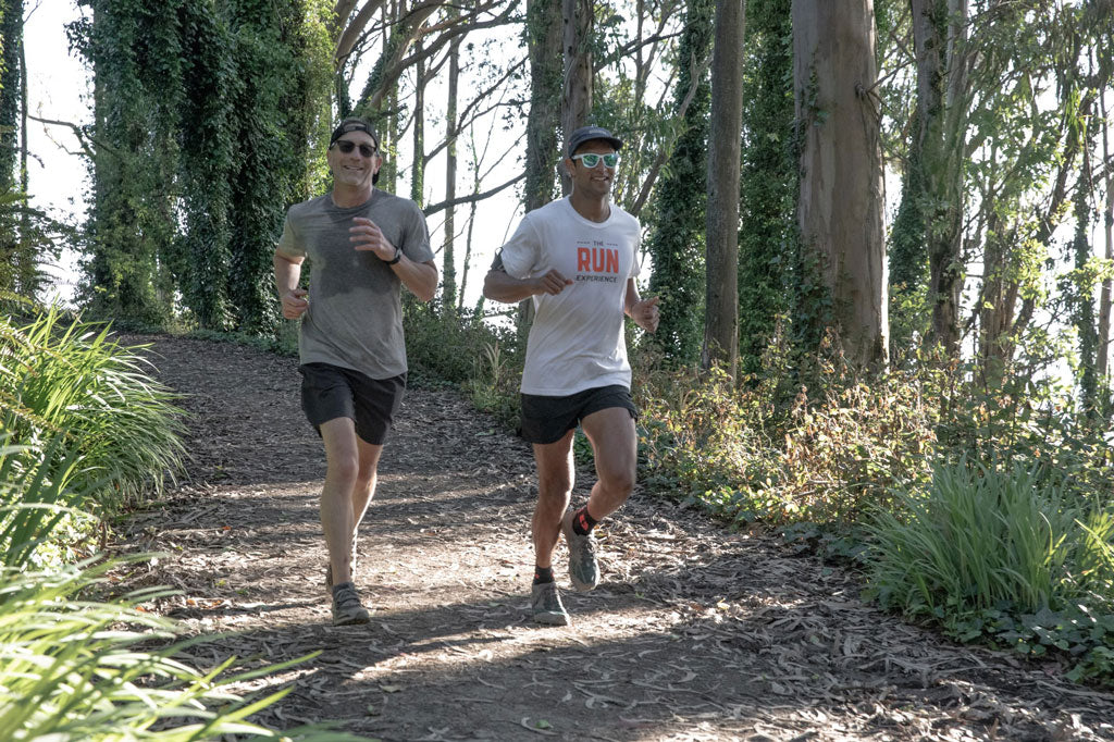 The Run Experience Craig Dos Santos with Scott Bailey from PATH projects