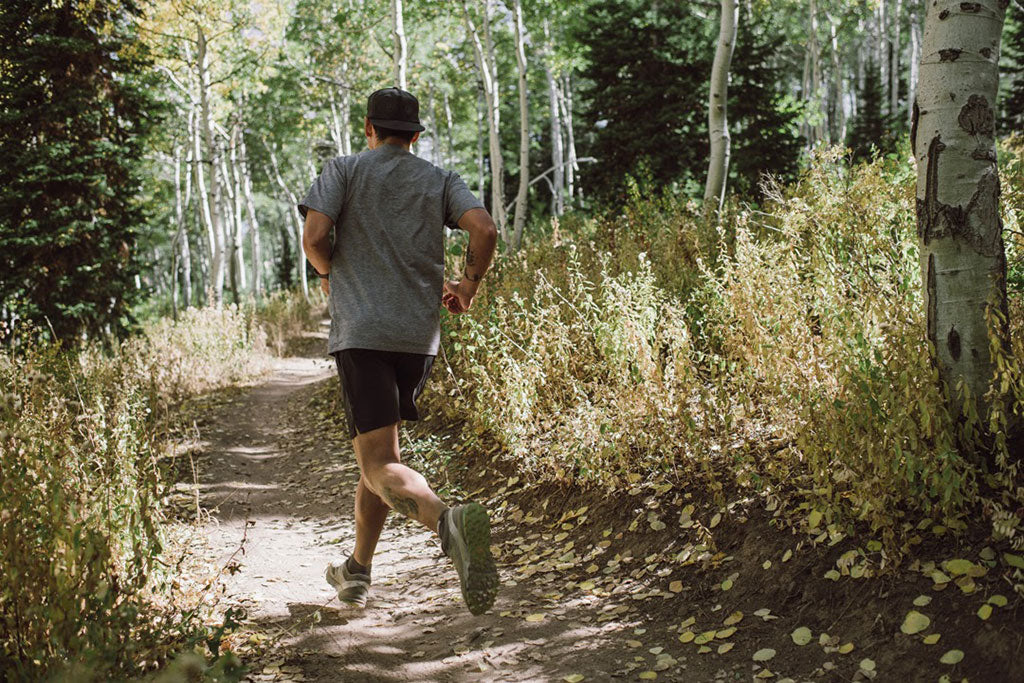 Trail running powder mountain utah