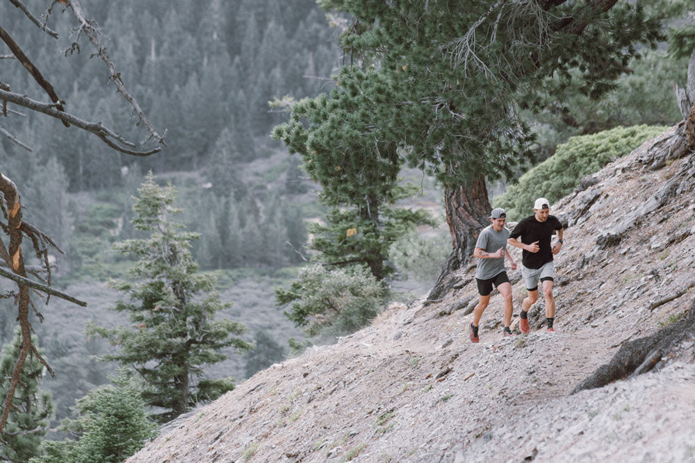 uphill trail running