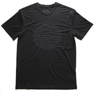 CIRCLE RANGE FADE SS T - BLACK