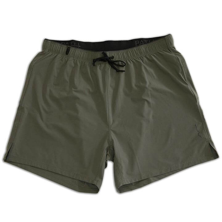 "SYKES PX 5"" SHORT - OLIVE GREY"