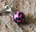 Cheetah Ball Charm