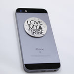 Round Metal Phone Grip Cover