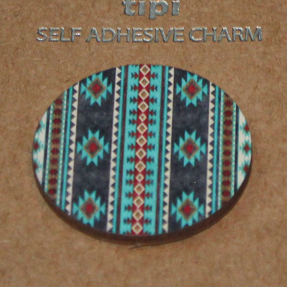 Tribal Print Phone Grip Cover