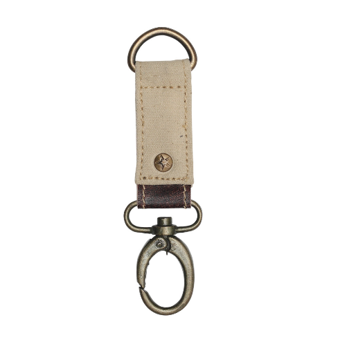 Myra Canvas Key Fob