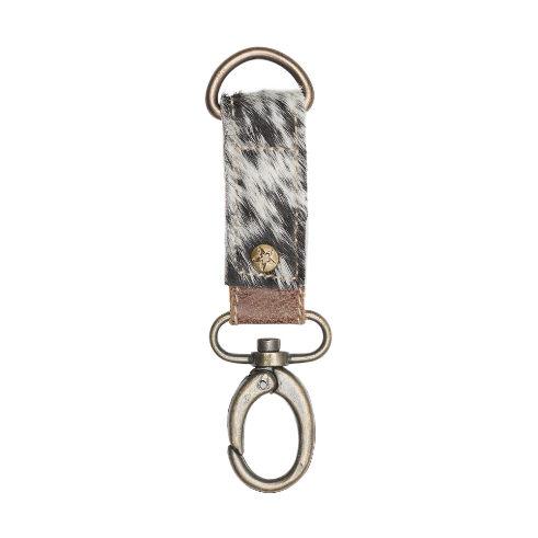 Myra Hair on Hide Key Fob