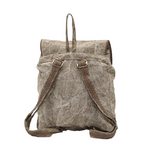 Myra Leather Pocket Backpack