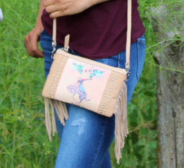 Nova Fringed Clutch Wallet