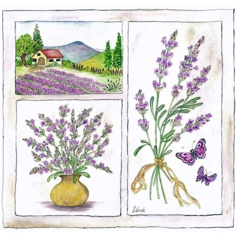 Lavender - NEEDLEWORK KITS
