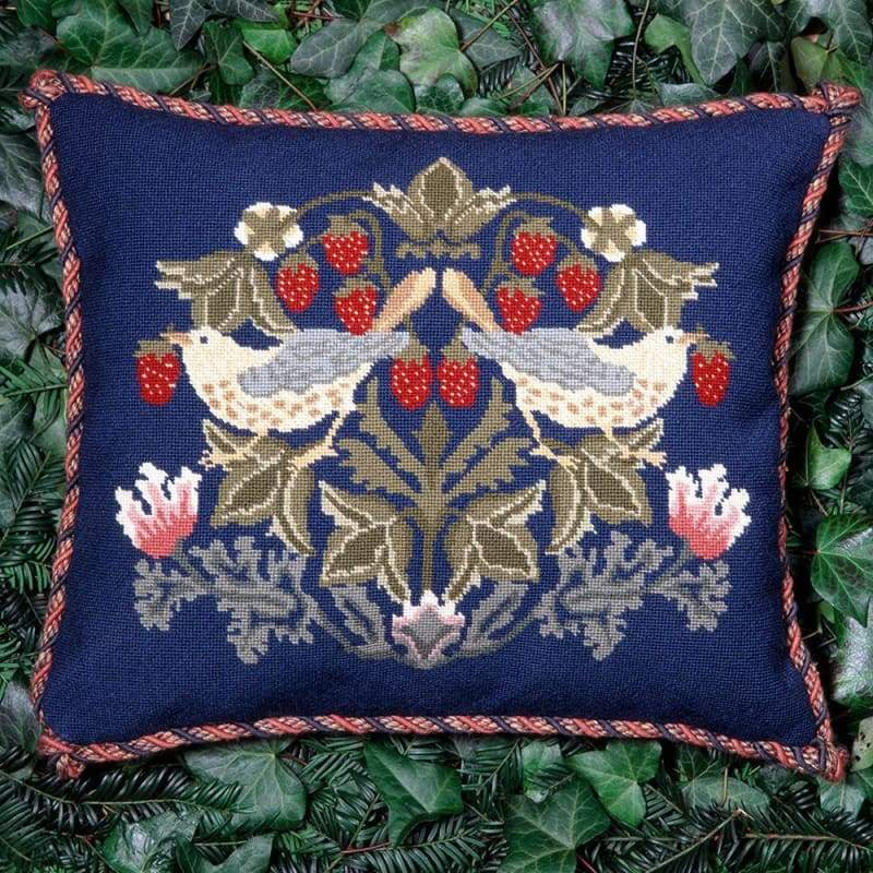 Strawberry Thief 2 - Tapestry And Needlepoint