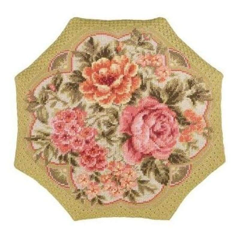 Evening Garden Cushion - NEEDLEWORK KITS