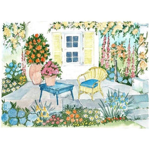 Yellow Shutters - Embroidery Patterns