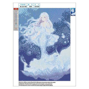 5D DIY Diamond Painting Kits Cartoon Dream Mermaid - 4