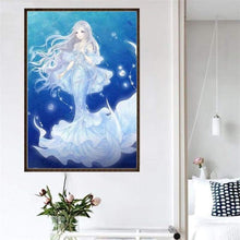 Load image into Gallery viewer, 5D DIY Diamond Painting Kits Cartoon Dream Mermaid - 4