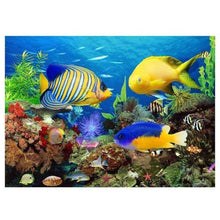 Load image into Gallery viewer, Full Drill - 5D DIY Diamond Painting Kits Undersea Animal Fish - NEEDLEWORK KITS