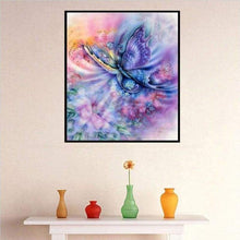 Load image into Gallery viewer, Full Drill - 5D DIY Diamond Painting Kits Dream Colorful Butterfly - NEEDLEWORK KITS