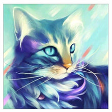 Load image into Gallery viewer, Full Drill - 5D DIY Diamond Painting Kits Dream Colorful Cat
