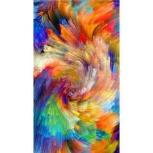 Full Drill - 5D DIY Diamond Painting Kits Dream Colorful Cloud Abstract Pattern - NEEDLEWORK KITS