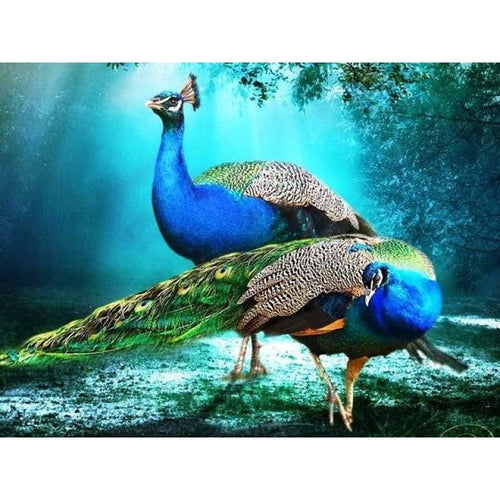 Dream Peacock Needlework Full Drill - 5D Diy Diamond Painting Kits VM9142 - NEEDLEWORK KITS