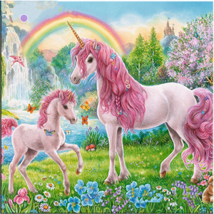 Dream Popular Unicorn Full Drill - 5D Diy Diamond Painting Kits VM7604 - NEEDLEWORK KITS