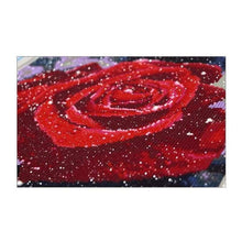 Load image into Gallery viewer, Dream Red Rose Full Drill - 5D  Diy Diamond Painting Flowers VM1404 - NEEDLEWORK KITS