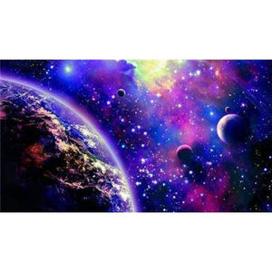 Dream Space Star Wall Decor Full Drill - 5D Diy Diamond Painting Kits VM7887 - NEEDLEWORK KITS