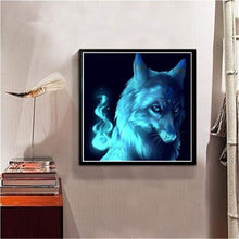 Load image into Gallery viewer, Dream Square Diamond Wolf Kids Gift Full Drill - 5D Diy Diamond Painting Kits VM7393 - NEEDLEWORK KITS