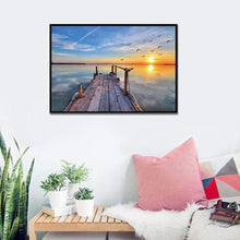 Load image into Gallery viewer, Dream Sunset Patterns Home Decor Full Drill - 5D DIY Diamond Painting Kits VM82980 - NEEDLEWORK KITS