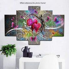Load image into Gallery viewer, Heart Pattern Lover Large Size Full Drill - 5D Diy Diamond Painting Kits VM9132 - NEEDLEWORK KITS