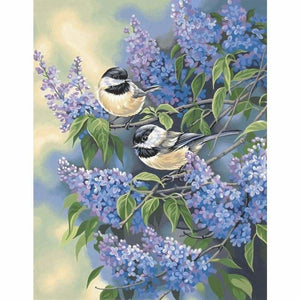 Hot Bird Picture Wall Decoration Full Drill - 5D Diy Diamond Painting Kits VM9096