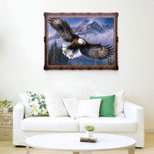 Load image into Gallery viewer, Animal Eagle Portrait Full Drill - 5D Diy Diamond Painting Kits VM7814 - NEEDLEWORK KITS