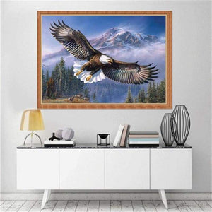 Animal Eagle Portrait Full Drill - 5D Diy Diamond Painting Kits VM7814 - NEEDLEWORK KITS