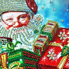 Load image into Gallery viewer, 2019 Hot Sale Christmas Santa Claus 5D Diy Diamond Mosaic Cross Stitch Kits VM7572 - NEEDLEWORK KITS