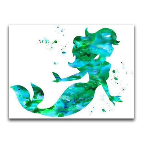 2019 Hot Sale Colorful Dreamy Cartoon Mermaid 5d Diamond Painting Set VM01109 - 3