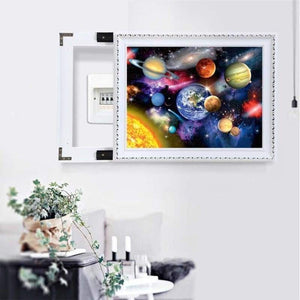 Hot Sale Landscape Galaxy Star Full Drill - 5D Diy Diamond Painting Kits VM07823 - NEEDLEWORK KITS