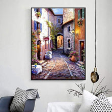 Load image into Gallery viewer, Hot Sale Landscape Street Wall Decor Full Drill - 5D Diy Diamond Painting Kits VM8123 - NEEDLEWORK KITS
