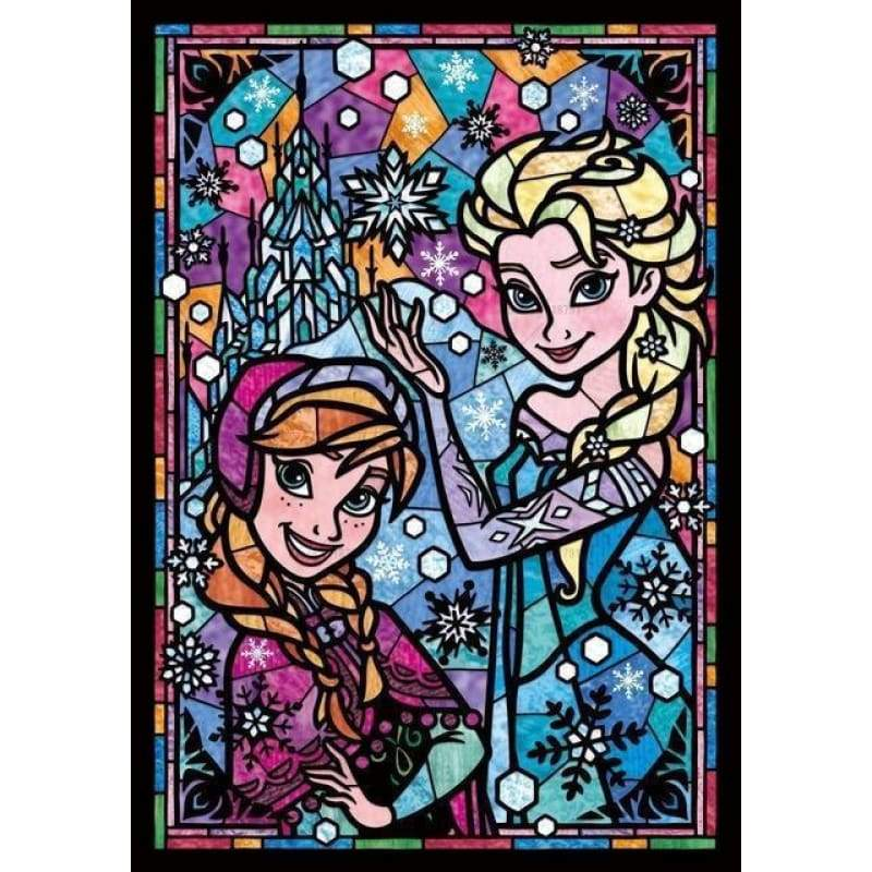 Hot Sale Princess Cartoon Diy Full Drill - 5D Diamond Painting Kits VM8316 - NEEDLEWORK KITS