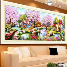 Load image into Gallery viewer, 2019 Landscape Tree Large Sizes Wall Decoration 5d Diy Diamond Painting Kits VM4127 - T
