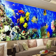 Load image into Gallery viewer, Large Size Colorful Ocean Fish Full Drill - 5D Diy Diamond Painting Kits VM7830 - NEEDLEWORK KITS