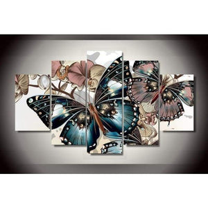 2019 Large Size Hot Sale Butterfly Multi Picture Wall Decor 5d Cross Stitch Kits VM8506 - NEEDLEWORK KITS