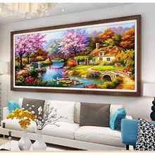 Load image into Gallery viewer, Large Sizes Wall Decor Landscape Nature Full Drill - 5D Diy Diamond Painting Kits VM7889 - NEEDLEWORK KITS