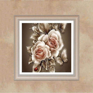 2019 Modern Art Popular Various Sizes Flower 5d Diamond Art VM1101 - NEEDLEWORK KITS