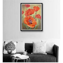 Load image into Gallery viewer, 2019 Modern Art Wall Decoration 5d Diy Diamond Painting Kits Flowers VM4023 - 4