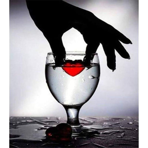 2019 Modern Art Wine Glass 5d Diy Diamond Painting Kits VM9210 - 2